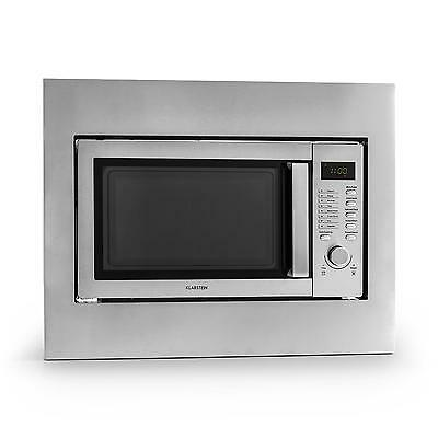 Einbau Mikrowelle Grill Ofen Kompakt Auftauen 8 Programme Garen Pizza 23L 800W
