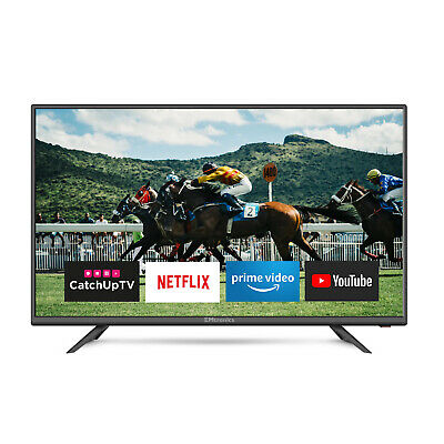 """EMtronics 40"""" Inch Full HD Smart TV with Freeview T2 HD, Wi-Fi, 3x HDMI and Apps"""