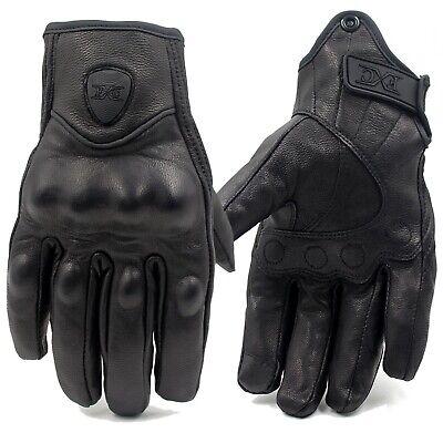 FXC Leather Best Waterproof Thermal Warm Winter Motorcycle Motorbike MTB (Best Warm Leather Gloves)