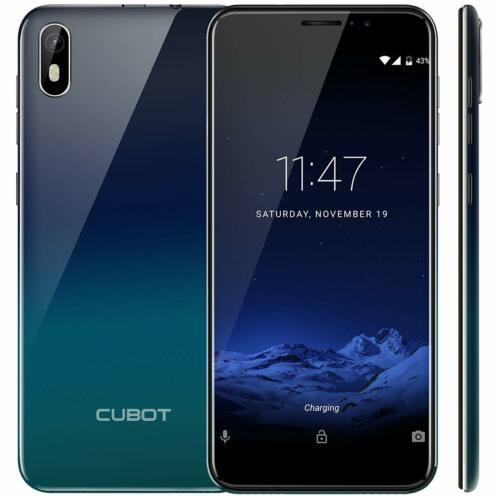 5.5 zoll Cubot J5 Android 9 Handy Ohne Vertrag RAM 2GB+16GB Smartphone Dual-SIM