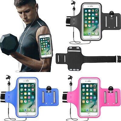 Armband Cell Phone Holder (Gym Running Jogging Sport Armband Arm Band Bag Case Holder Cover For Cell)