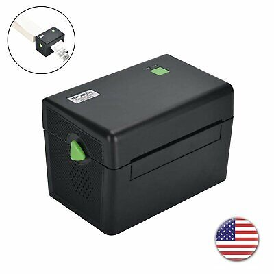 MFLABEL 4x6 Direct Thermal Shipping Mail Label Barcode Printer With USB Black Direct Thermal Barcode Printer
