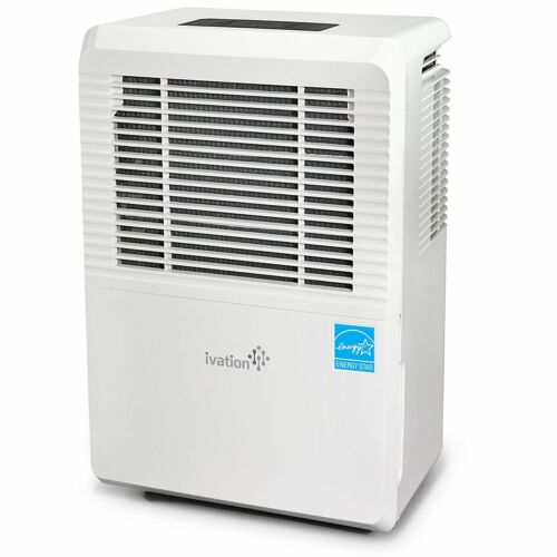 Ivation 70 Pint Energy Star Dehumidifier WITH PUMP - Large-C