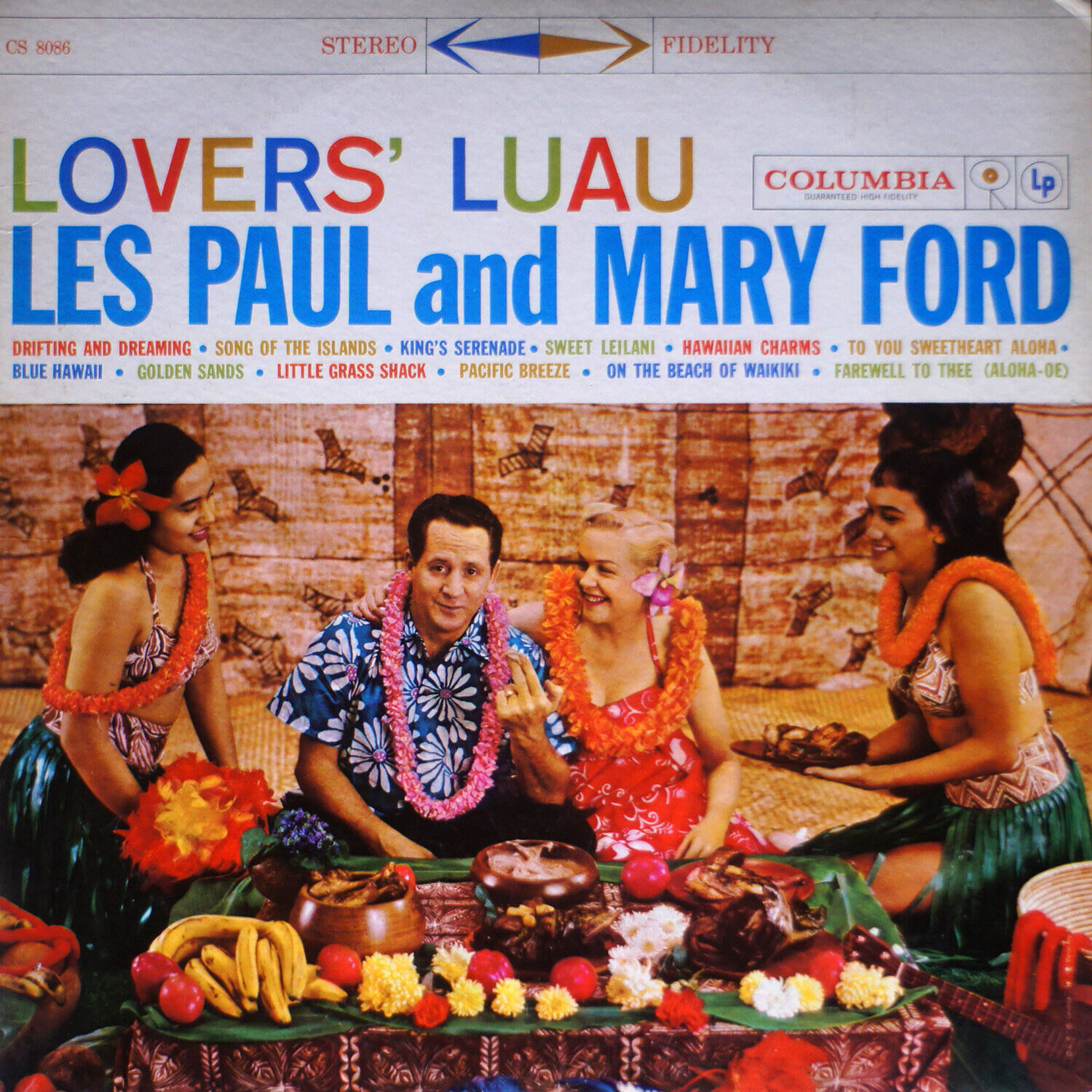 LES PAUL And MARY FORD / Lovers Luau NM/EX 0514 LP Vinyl - $15.00