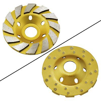 Ocr Tm 4 Concrete Turbo Diamond Grinding Cup Wheel For Angle Grinder 12 Segs