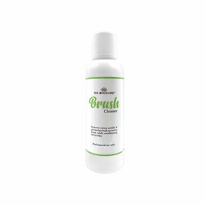 Pro Impressions Brush Cleaner - 200ml (Liquid Tool Acrylic Gel)