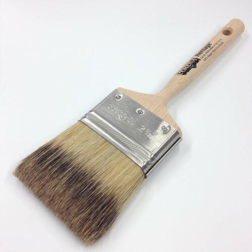 """Corona 2.5"""" Heritage Professional Badger Style Bristle Paint Brush"""