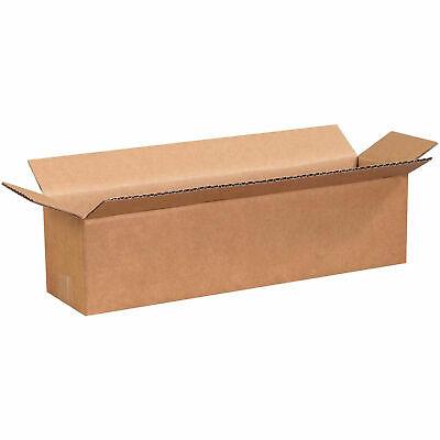 16 X 4 X 4 Long Cardboard Corrugated Box 65 Lbs Capacity 200ect-32 Lot