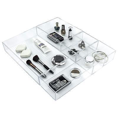 5 teiliges Schubladen Organizer Set Kosmetik Kommoden Schrank Organizer  ()