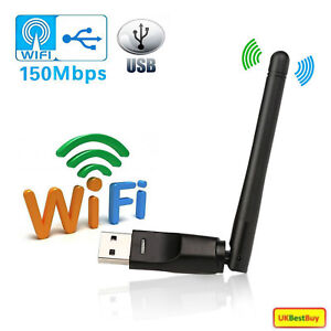 2.4GHz Wireless USB WiFi Dongle For Windows PC MAC Openbox ZGEMMA BOX TV