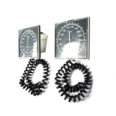 Lot Of 2x Tycos Wall Mount Sphygmomanometer Blood Pressure Measurement Nibp