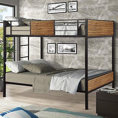full over full bunk bed modern style