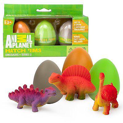 Animal Planet Super Grow   Hatch Eggs Dinosaurs Series 2