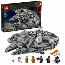 LEGO Star Wars 75257 Millennium Falcon Starship with 7 Characters