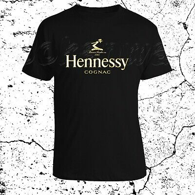 Hennessy Logo French Cognac beverages top brand champagne Men's S to 3XL](Champagne Beverage)