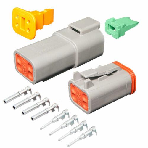 4 Pin Deutsch DT04-4P DT06-4S waterproof electrical connector