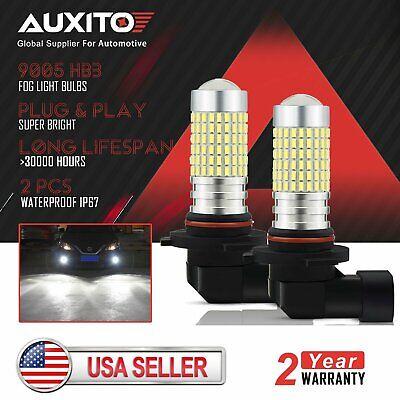2x AUXITO 9005 LED Daytime Running Light Bulb for Acura MDX RDX RL TL 2005-2013