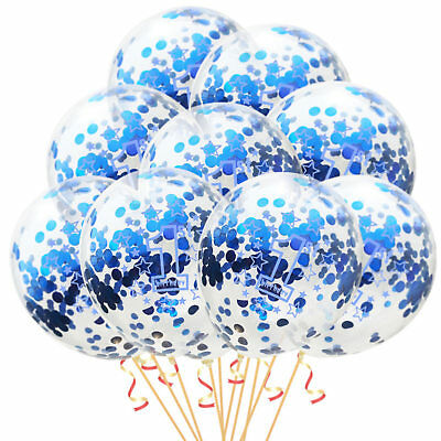 Set 1. Geburtstag Feier Party Ballons 10 Stück Junge blau (1. Geburtstag Jungen)