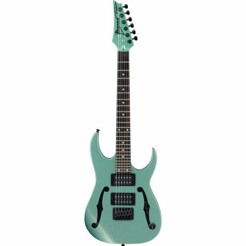 Ibanez PGMM21-MGN Paul Gilbert miKro Metallic Light Green Electric Guitar