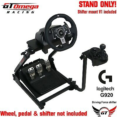 GT Omega Gaming Wheel stand PRO For Logitech G920 Racing & Driving force shifter