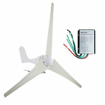 400W DC 24V Wind Turbine Generator with Charge Controller, 3 Blades 800r/min for sale  Canada