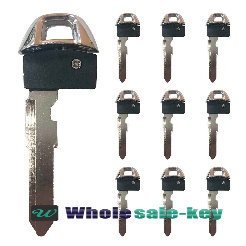 LOT OF 10 UNCUT Emergency Key Blade Blank for Suzuki Kizashi smart key KBRTS009
