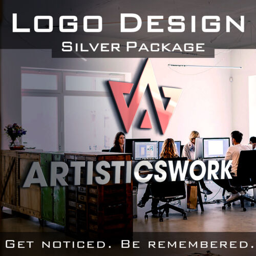 CUSTOM LOGO DESIGN | BUSINESS LOGO | UNLIMITED REVISIONS | SILVER PACKAGE
