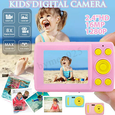 - 2.4'' HD Digital Camera For Kids 16MP Anti-Shake Face Detection Camcorder  !