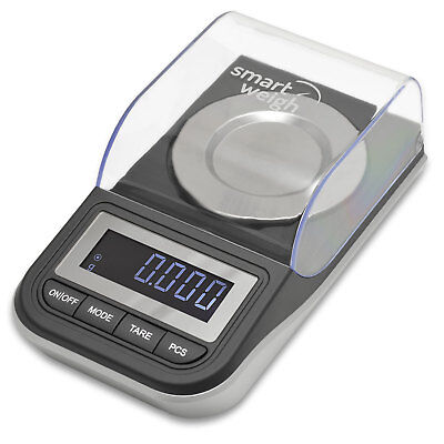 Smart Weigh 50g x 0.001g High Precision Jewelry Digital Milligram Scale w/ Case