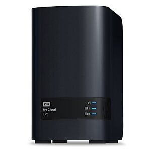 WD 12TB My Cloud EX2 Network Attached Storage NAS Hard Drive