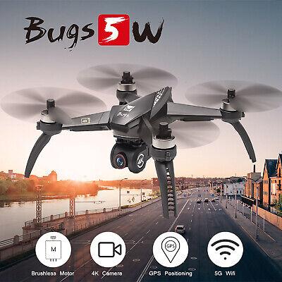 MJX Bugs 5W B5W RC Drone Camera 4K 5G Wifi Brushless RC Quadcopter GPS Xmas Toy
