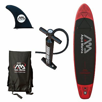 """Aqua Marina Monster 12"""" Stand Up Paddle Board Inflatable SUP"""