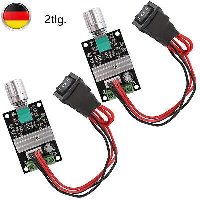 2x 1203BB PWM Drehzahlregler Motor Speed Controller Module DC 6V 12V 24V 3A 80W - Motor Speed Controller