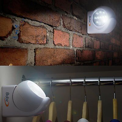 Babz - LED - Motion Activated Security Light Sensor - Ultra Bright