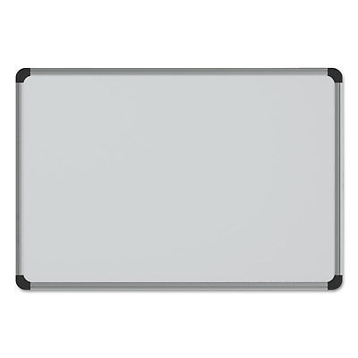 Universal Porcelain Magnetic Dry Erase Board 24 X36 White 43841