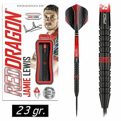 REDDRAGON Steel Dart Darts Pfeile Steeldarts Jamie Lewis - The Fireball 23 gr.