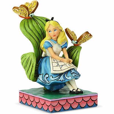 Disney Traditions Estatuilla De - Curioso Y (Alicia en el País las...