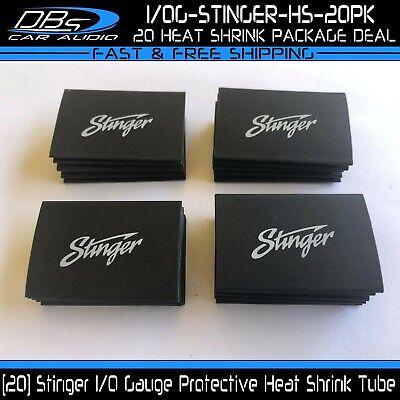 20 10 Gauge Stinger Heat Shrink Protective Tubing 0ga Black Tube Plastic Sleeve