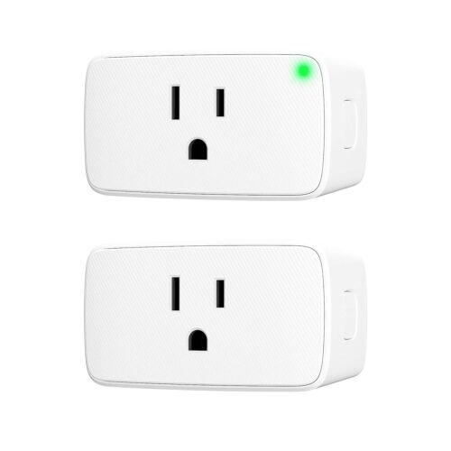 VOCOlinc Smart Plug Mini Siri WiFi Outlet Socket Plug, 2PACK-Smartbar New