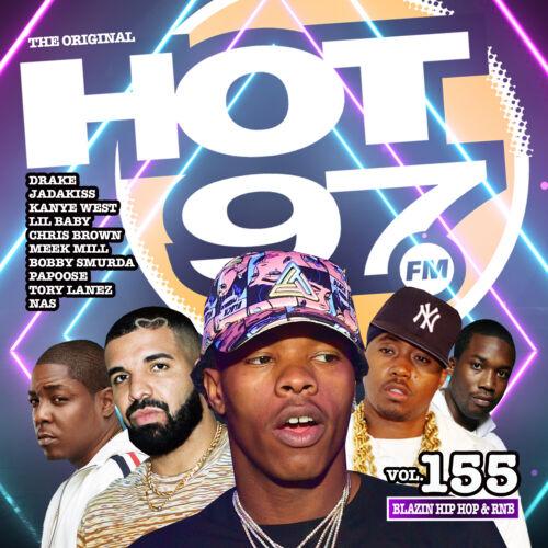 Hot 97 vol. 155 Blazin Hip Hop & RNB Official CD