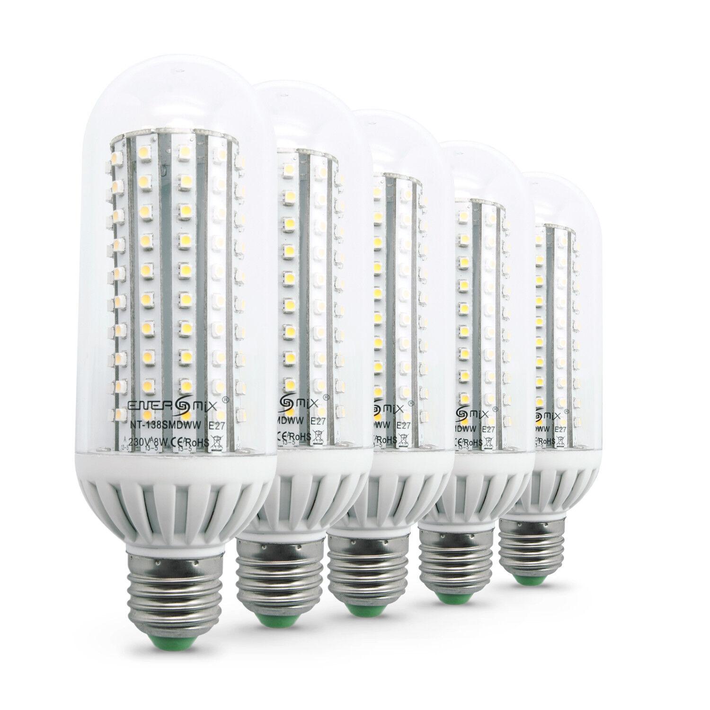 SET 10 x 3W//5W//7W//9W E27 LED LEUCHTE GLÜHBIRNE BIRNE SPARLAMPE LAMPE LICHT DE