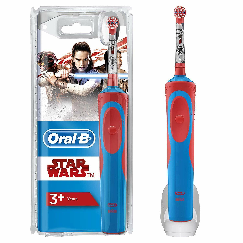 Oral-B Kids Elektrische Kinderzahnbürste, für Kinder ab 3 Jahren, im Star Wars D