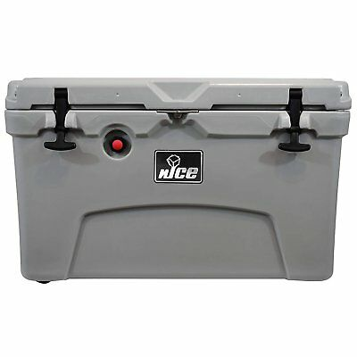 45 quart insulated portable ice chest beverage