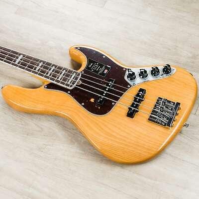 Fender American Ultra Jazz Bass Guitar , Rosewood Fingerboard, Aged Natural
