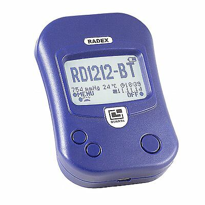 Radex Rd1212-bt Advanced Radiation Detector Geiger Counter W Bluetooth