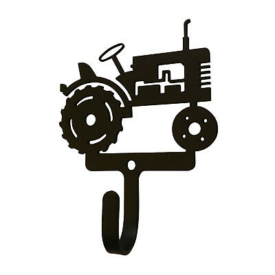 - Tractor Wall Mount Coat Hook Wrought Iron Country Farm Home Decor