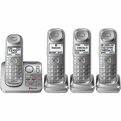 Panasonic KX-TG674SK Bluetooth Link2Cell DECT 6.0 Digital Cordless Phone System (Cell Bluetooth Cordless Phone)