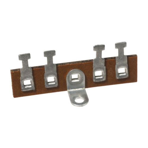 4 Lug Miniature Terminal Strip 0 Shared Phenolic 5pcs