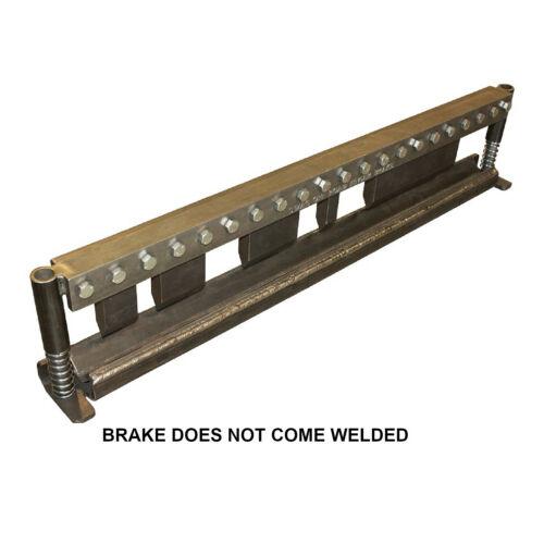 """50"""" Finger Press Brake DIY Builder Kit, with Adjustable Back Stop."""