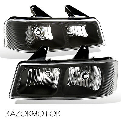 2003-2017 Replacement Headlight Pair For Chevy Express / GMC Savana w/ Bulb